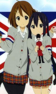 K On Anime, Anime Art, Anime Stuff, Azusa Nakano, Anime Friendship, Pet Turtle, Deadman Wonderland, Kyoto Animation, Anime Best Friends