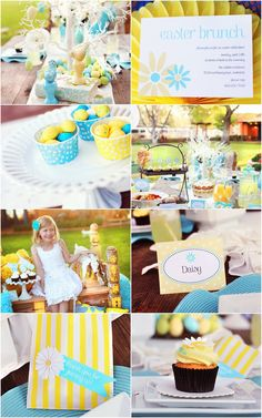 Easter Brunch Free Printables | The TomKat Studio for HGTV