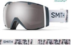 2fab4b470388 Smith Women s I O ChromaPop Snow Goggles Thunder Composite Plat  Mirror Storm Rose Flash