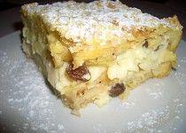 Jablková žemlovka trochu jinak Lasagna, French Toast, Goodies, Pie, Sweets, Cheese, Breakfast, Ethnic Recipes, Food