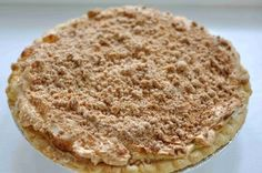 Peanut Butter Pie---It looks like the one that they served at my high school.