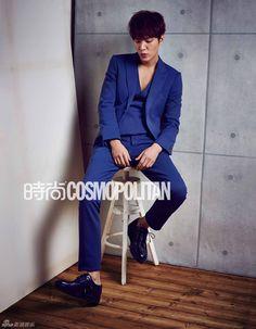 Lee Min Ho In Cosmopolitan China's March 2014 Issue Hot Korean Guys, Korean Men, Korean Actors, Hot Guys, Korean Dramas, Asian Men, New Actors, Actors & Actresses, Minho