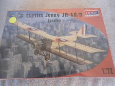 Olimp #P72-1 1/72 Curtiss Jenny N-4A/D early Plastic Military Airplane Model Kit #Olimp