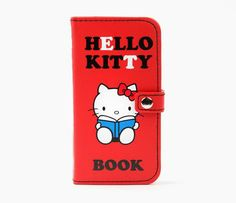 I want this!!!!!! - Hello Kitty iPhone 5 Case: Book