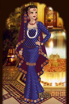 in mughal dress 2