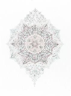 Jewel Creative Skills, Everything Pink, Sacred Geometry, Pattern Wallpaper, Surface Design, Color Patterns, Design Elements, Illustration Art, Illustrations