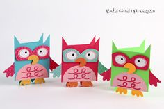 Under A Cherry Tree: From Owl Box to Owl Card