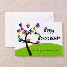 Nurse Week card 1 Greeting Cards on CafePress.com