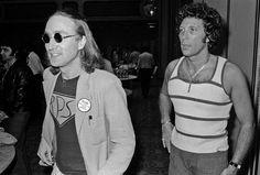 John Lennon and Tom Jones #legends