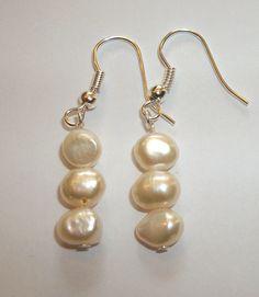 Classic Cream Bridal Freshwater Pearl by ElizabettaJewellery