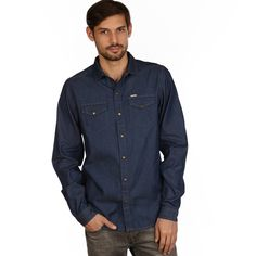 IRIEDAILY Fiete Denim Shirt #backyardshop