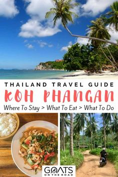 Things To Do in Koh Phangan, Thailand : Planning a trip to Southeast Asia? Island hopping in Thailand is a must & Koh Phangan has some some the best beaches in Thailand. From snorkelling to yoga, here's what to do in Koh Phangan plus hotel recommendations Thailand Travel Guide, Visit Thailand, Asia Travel, Thailand Vacation, Croatia Travel, Bangkok Thailand, Hawaii Travel, Italy Travel, Koh Phangan