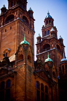 Kelvingrove Art Gallery and Museum in the West End of Glasgow, Scotland