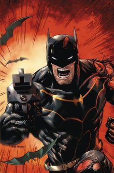 Detective Comics #49 - Batman by Tyler Kirkham, colours by Tomeu Morey *