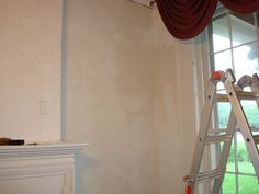 Work on the wall in the front parlor is nearly complete #BrownleeHouseRehab wccf.net