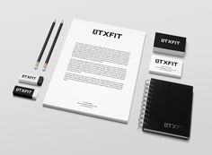 Custom Logo Design and Branding Package for our client TXFit! Call us for your graphics.. 713-396-0354 or send us an email to inquire about out services and pricing. info@cosmocreativegroup.net