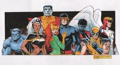 Uncanny X-Men by Reilly Brown