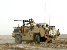 MWMIK / Jackal Armored Vehicle (United Kingdom)