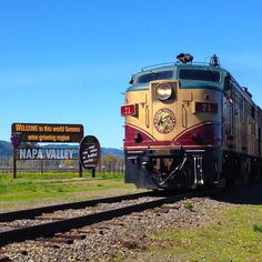 Where are you headed?  #VisitNapaValley #NapaValley #VisitCalifornia #WineCountry by winetrain
