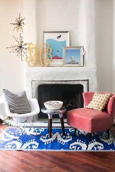 Complementos en color coral | Decorar tu casa es facilisimo.com