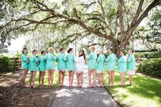 Great ideas for bridesmaid gifts; monogrammed fishing shirt; lowcountry wedding; bride; bridesmaids; Oldfield Club; Wedding Photographer; Jill Doty Photography