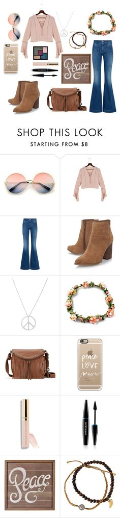 """""""Hippies Costume"""" by rymae27 ❤ liked on Polyvore featuring ZeroUV, STELLA McCARTNEY, Nine West, Roberto Coin, The Sak, Yves Saint Laurent, Casetify, Beautycounter, MAKE UP FOR EVER and Tai"""