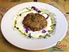Hamburger #LowCarb Di Melanzane con #FormaggioDiPecora