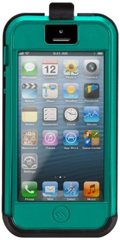 iPhone 5 Tough Xtreme with Belt Clip - Olo by Case-Mate. Mil-Spec Approved: meets or exceeds U.S. military testing. 3 layers of protection with a slim profile and built-in screen protector. Sporty, textured finish for and easy-to-hold and secure grip.