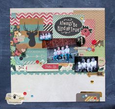 Layout by Jodi Sanford using the Brag Cards and other products from the Burlap & Bouquet collection by FancyPantsDesigns.com