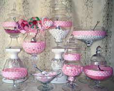 Wedding Candy Buffet how to from Groovy Candies