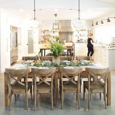 gorgeous light and bright kitchen