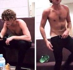 Ashton Fletcher Irwin how dare you. I fracking love him! Ashton Irwin Imagines, Ashton Irwin Hot, Ashton Irwin Drums, 5sos Ashton, 5sos Memes, Michael Clifford, Michael Jackson, 1d And 5sos, Second Of Summer