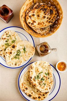 Homemade naan (made in a wok, how easy is that!) Super delicious!
