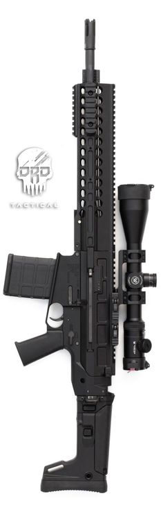 DRD Tactical Paratus P762 Gen2 rifle. Photo by Tracerx