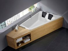 Modern Two Seater Tub. #buthtub #modernbathtub #bathroom