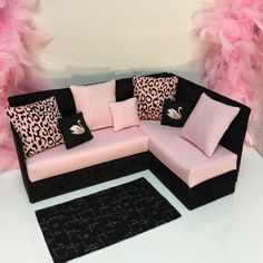 Furniture for Barbie Doll Monster High Gigi by PINKLITTLEFURNITURE