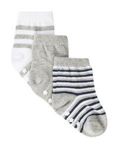 Cotton Rich Socks 3-Pack