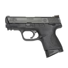 Smith & Wesson M Compact 9mm - very similar to mini Glock but had an external safety