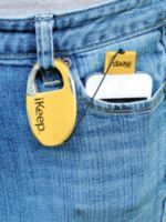 iKeep means no more dropped or damaged iPhones or iPods. Protect your iPhone 3GS/4/4S or 30-pin iPod from damage and theft by tethering it to this retractable cord. iKeep securely clips to a belt loop, purse or gym bag to keep your personal electronics safe and handy.
