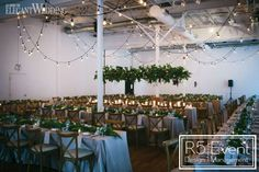 Twinkling lights, a gorgeous floral chandelier and votive candles were placed throughout this intimate garden wedding to create a romantic glow. Twinkle Lights, String Lights, Floral Centerpieces, Wedding Centerpieces, Wedding Magazine, Table Setting Inspiration, Wedding Inspiration, Toronto, Floral Chandelier
