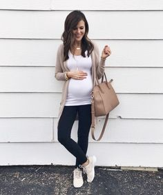 I can't believe today marks 24 weeks pregnant with this sweet little babe. Time is flying by! 💕 I'll have abother bump update on the blog early next week. Please let me know if you have any questions or if there's anything specific you'd like me to include in the post! P.S. My sneakers are currently on sale for $79.99 with code 'SAVE20NOW'. Outfit details 👉🏻 http://liketk.it/2qaOs @liketoknow.it #liketkit #LTKbump