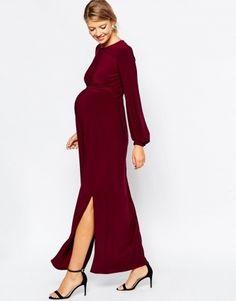 High Quality Burgundy Maxi Dress