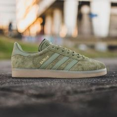 adidas Gazelle Olive Cargo is available to buy ONLINE now and is priced at £75.00. #adidas #adidasoriginals #gazelle #hanon