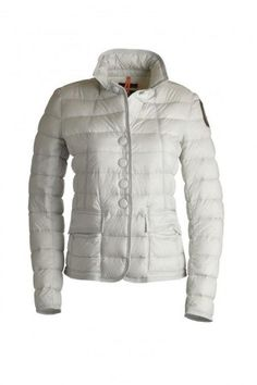 Women's Parajumpers Alisee Lightweight Jackets White Cheap On Sale OFF