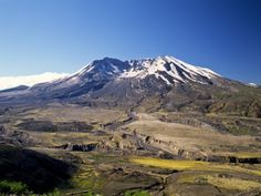 Mount St. Helens National Volcano Monument, Washington, USA Fotografisk trykk