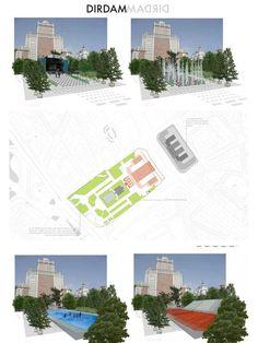 Estas son las propuestas que compiten para remodelar la Plaza España en Madrid,DIRMADMADRID. Image © Difusión Ayuntamiento de Madrid