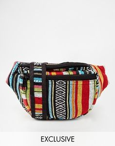Reclaimed Vintage African Bum Bag at asos.com