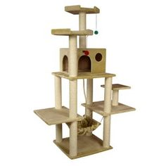 cat tower need new one for my kitties...this one is cool