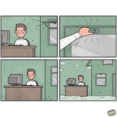 Work Office - Anton-Gudim-illustrations