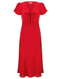 Bea Bow Tea Dress
